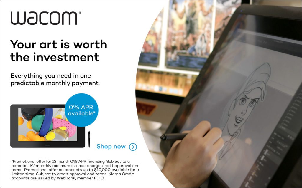 Wacom – Your art is worth the investment