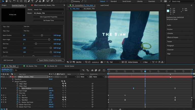 New features and enhancements in the April 2019 release of After Effects (version 16.1.)