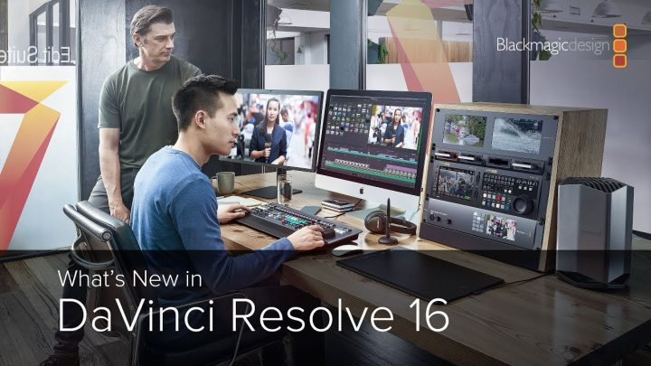 Fusion Pro and DaVinci Resolve 16 released