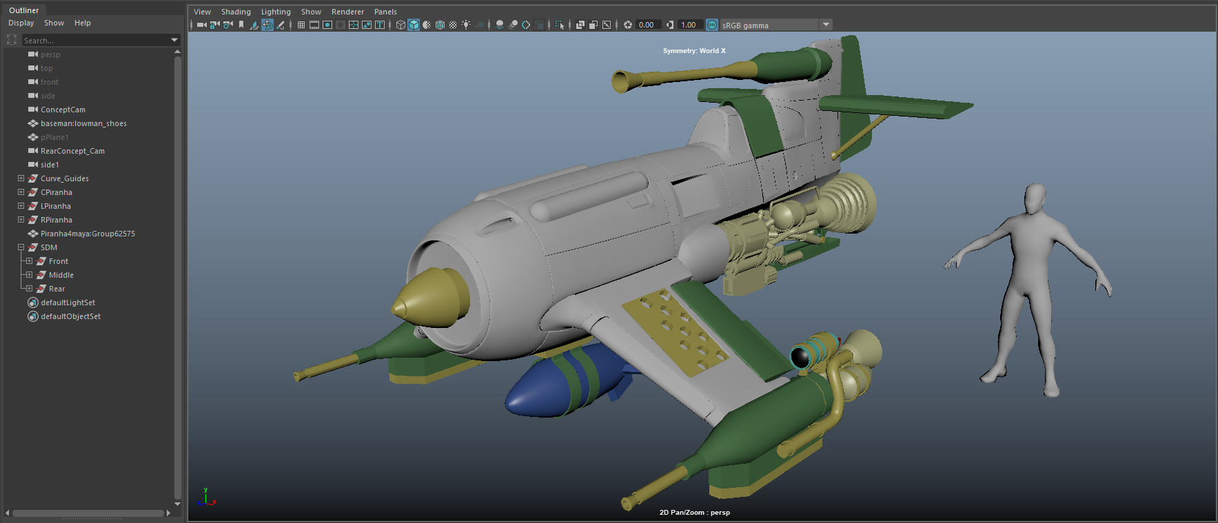 Building a Piranha War Fighter with Andrew Grant