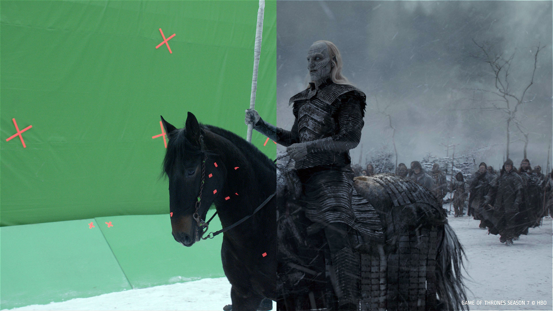 These new Game of Thrones VFX breakdowns show how the dragons, epic battles, armadas and castles were created