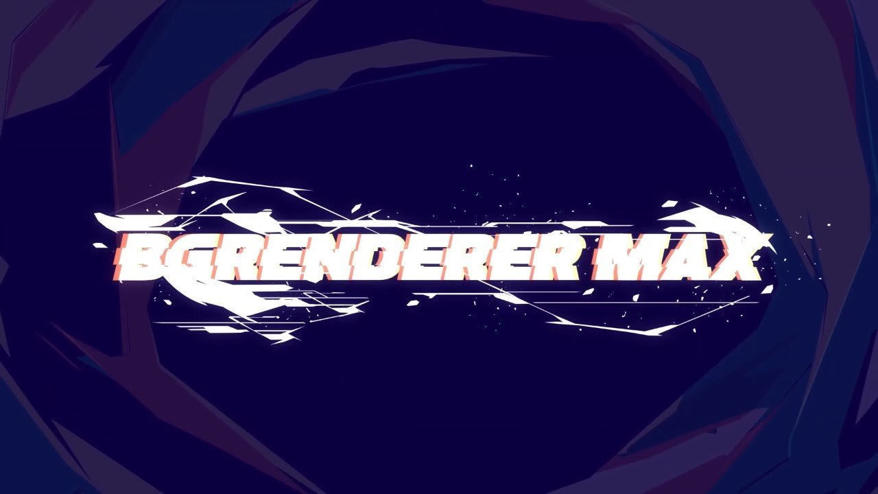 BG Renderer Max for After Effects released