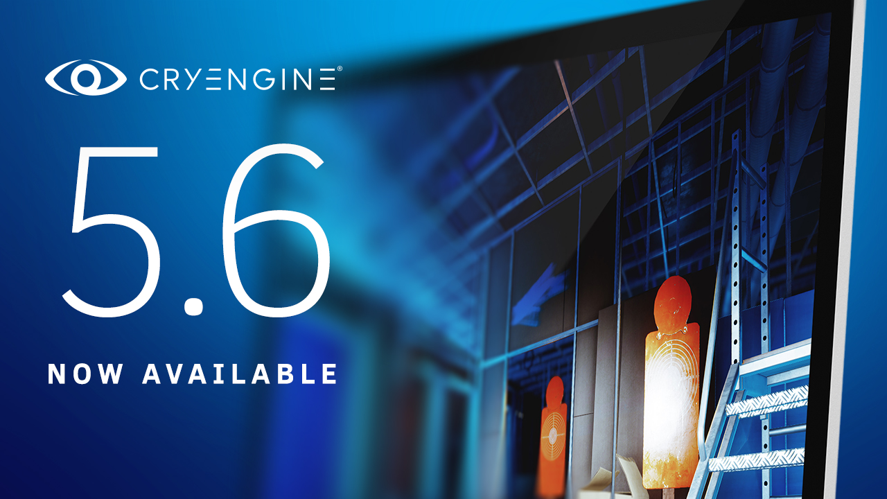 CryEngine 5.6 released