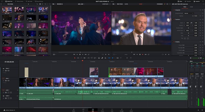 Da Vinci Resolve 16.1 announced