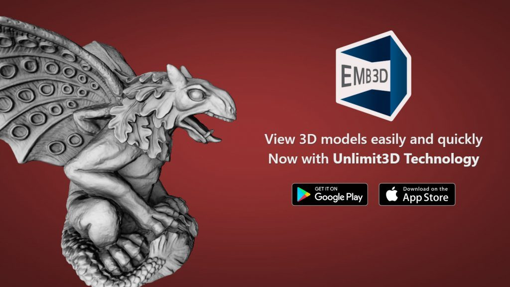 Emb3D – web and app based model viewer updated