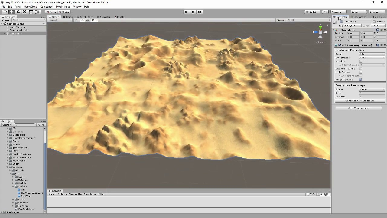 ML Terraform – terrain generator based on neural networks