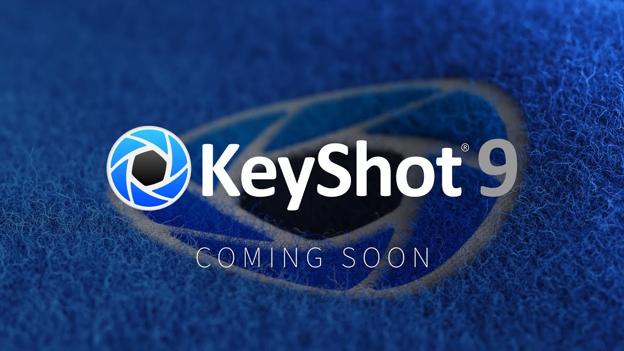 Keyshot 9 sneak peek