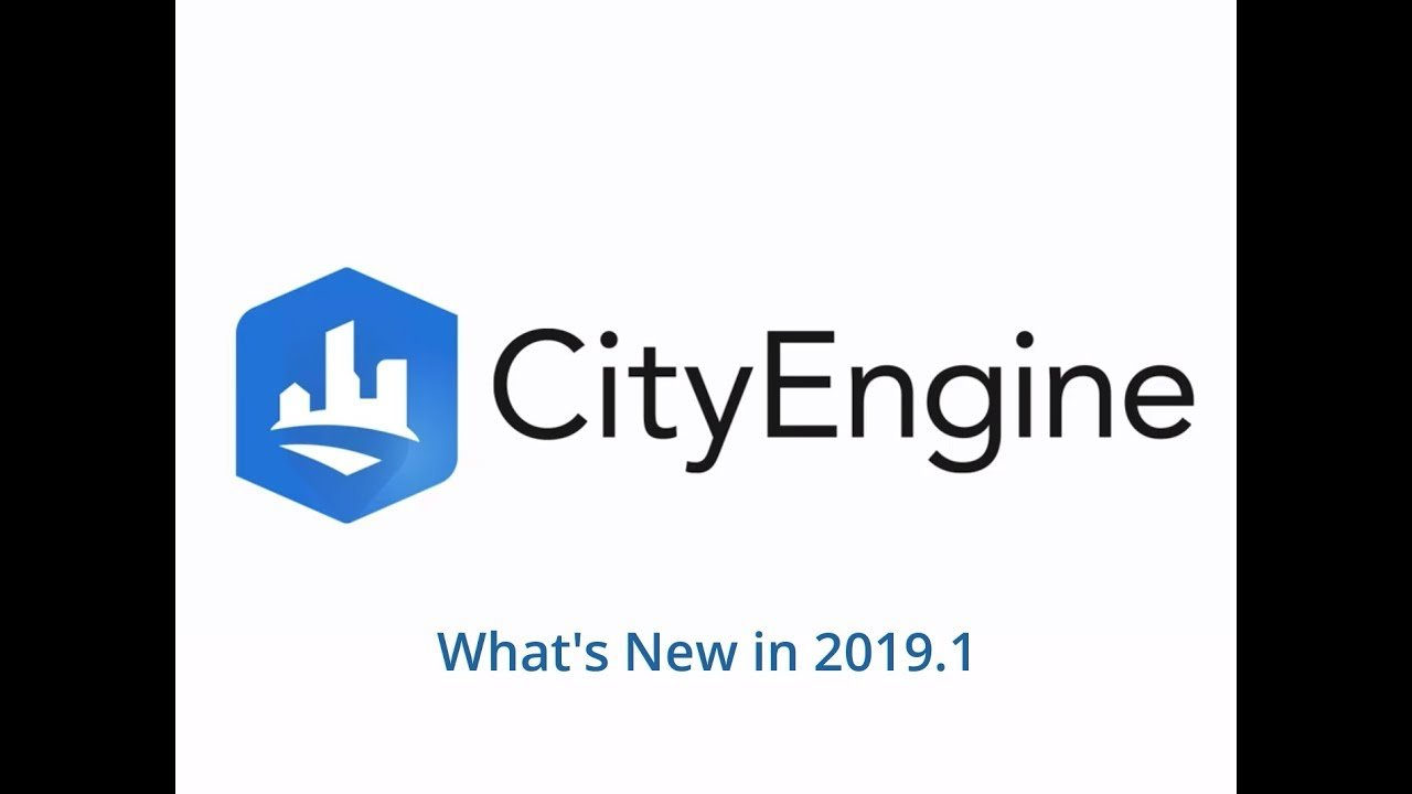 CityEngine 2019.1 released with a new Maya plugin