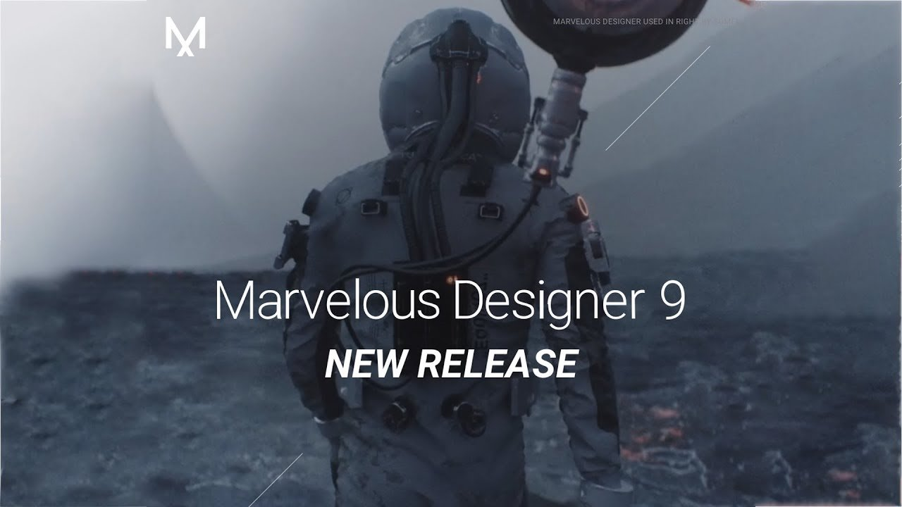 Marvelous Designer 9 released