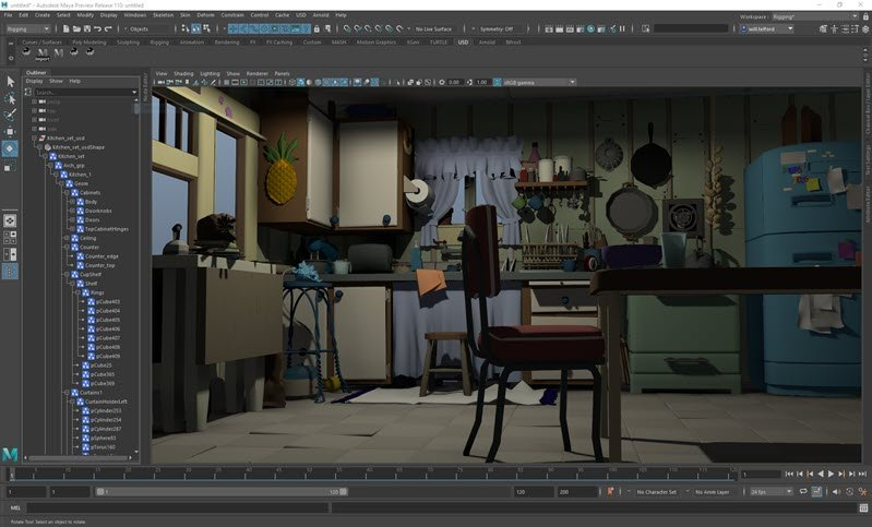 USD for Maya Overview