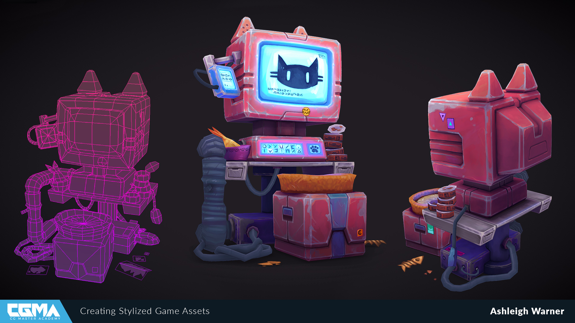 Creating Stylized Game Assets with Ashleigh Warner