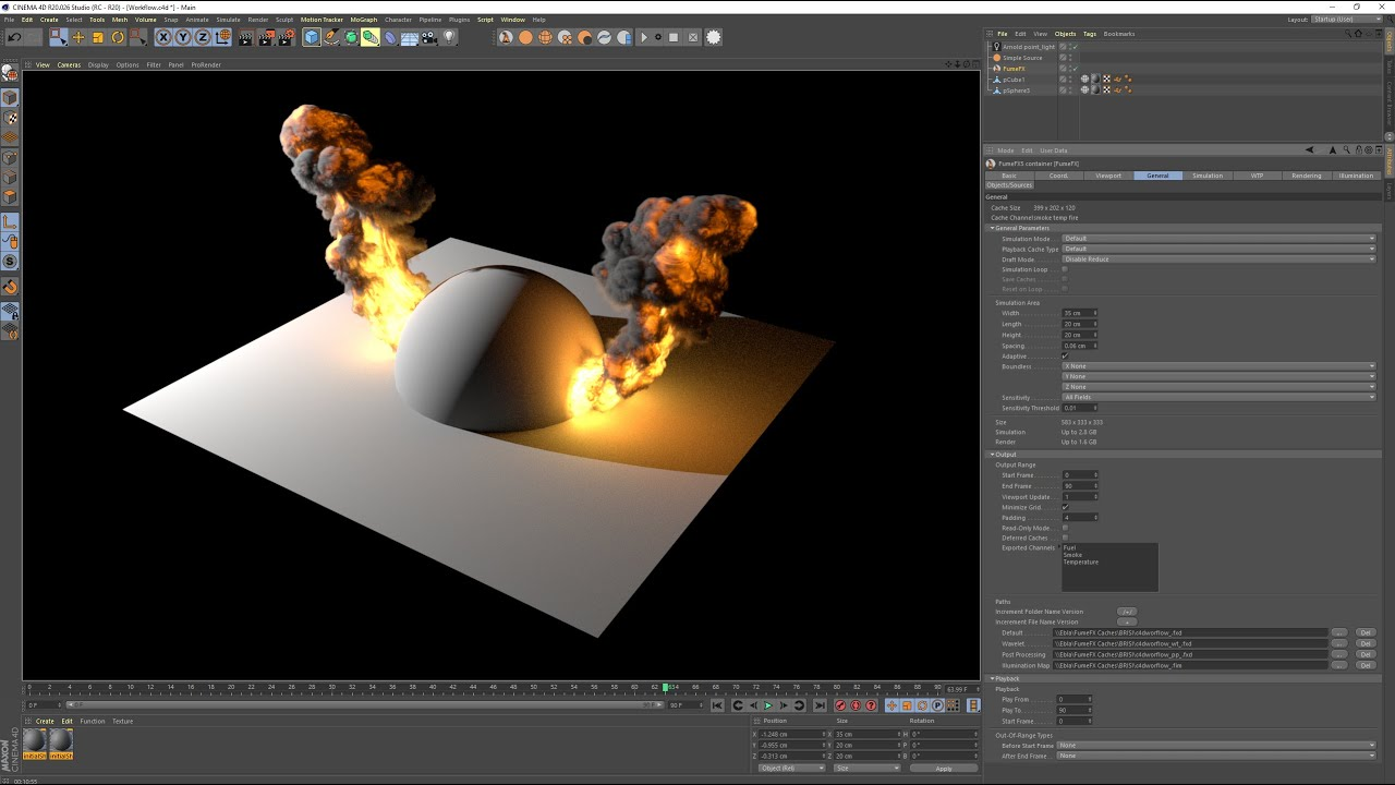 Fume FX now available for Cinema 4D