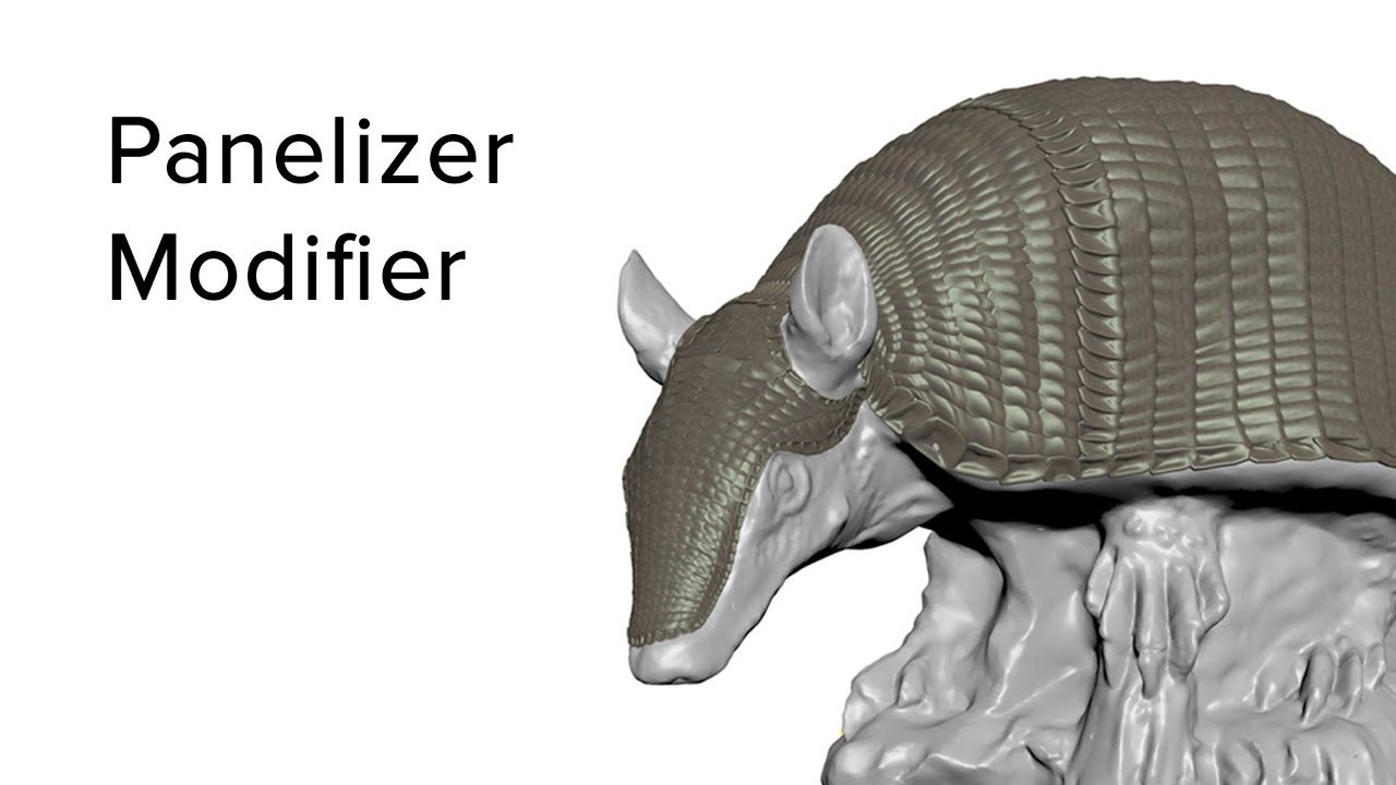 Panelizer Modifier for 3DS Max
