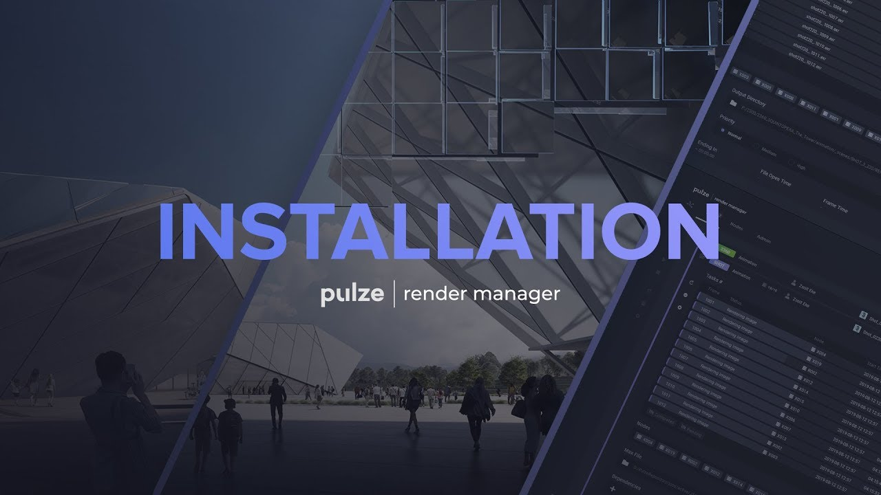 Pulze Render Manager beta