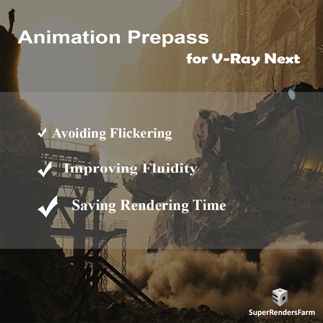 Animation Prepass for V-Ray Next