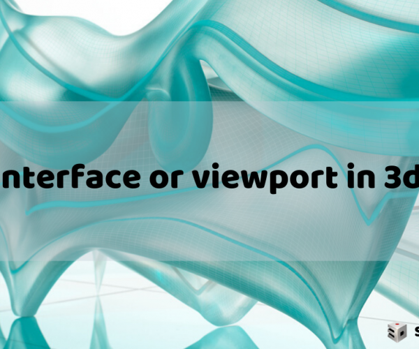 Slow interface or viewport in 3ds Max