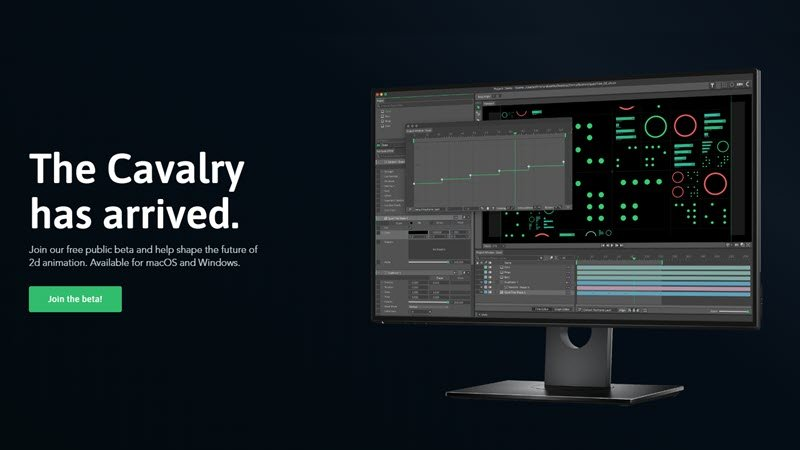Cavalry – new motion design software