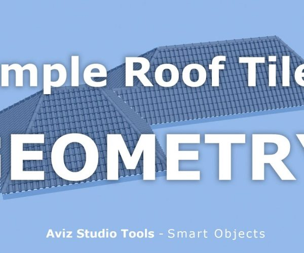 Aviz Studio release Roof Tile and Floor digital assets