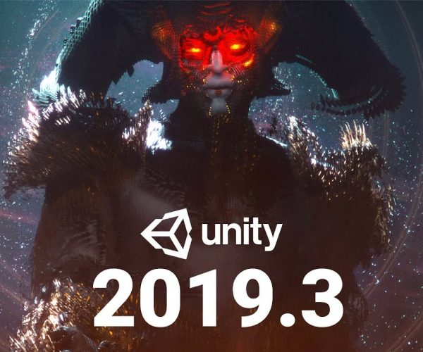 Unity 2019.3 is out now