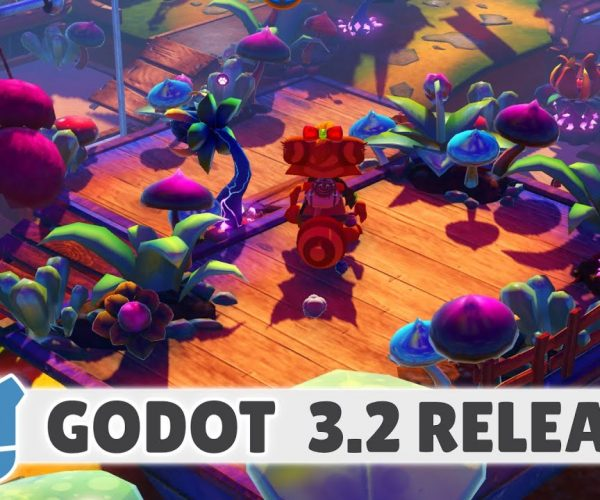 Godot 3.2 now available