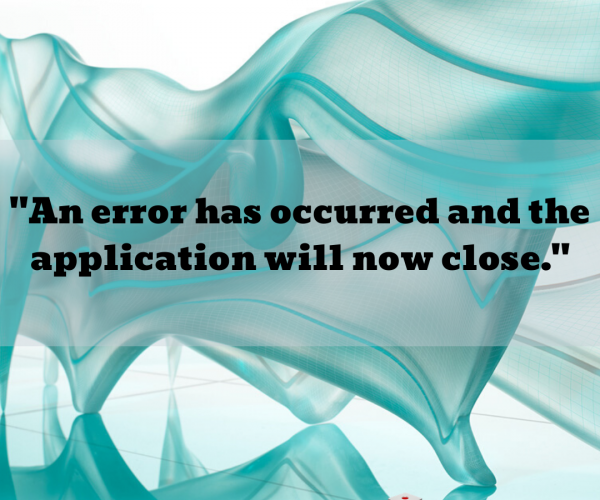 """An error has occurred and the application will now close."" message appears when using the 'Undo' button in 3ds Max"