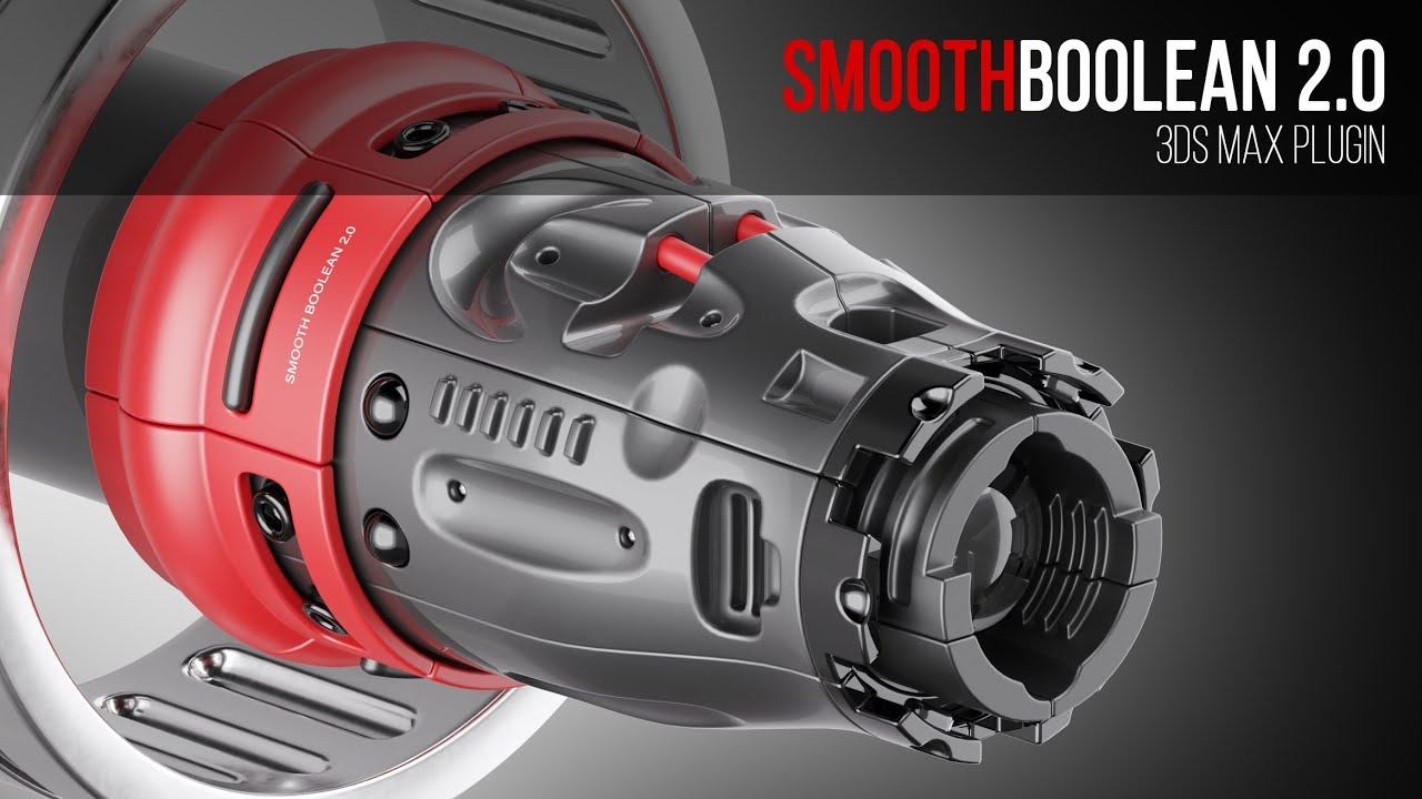 Smooth Boolean 2 for 3ds Max released