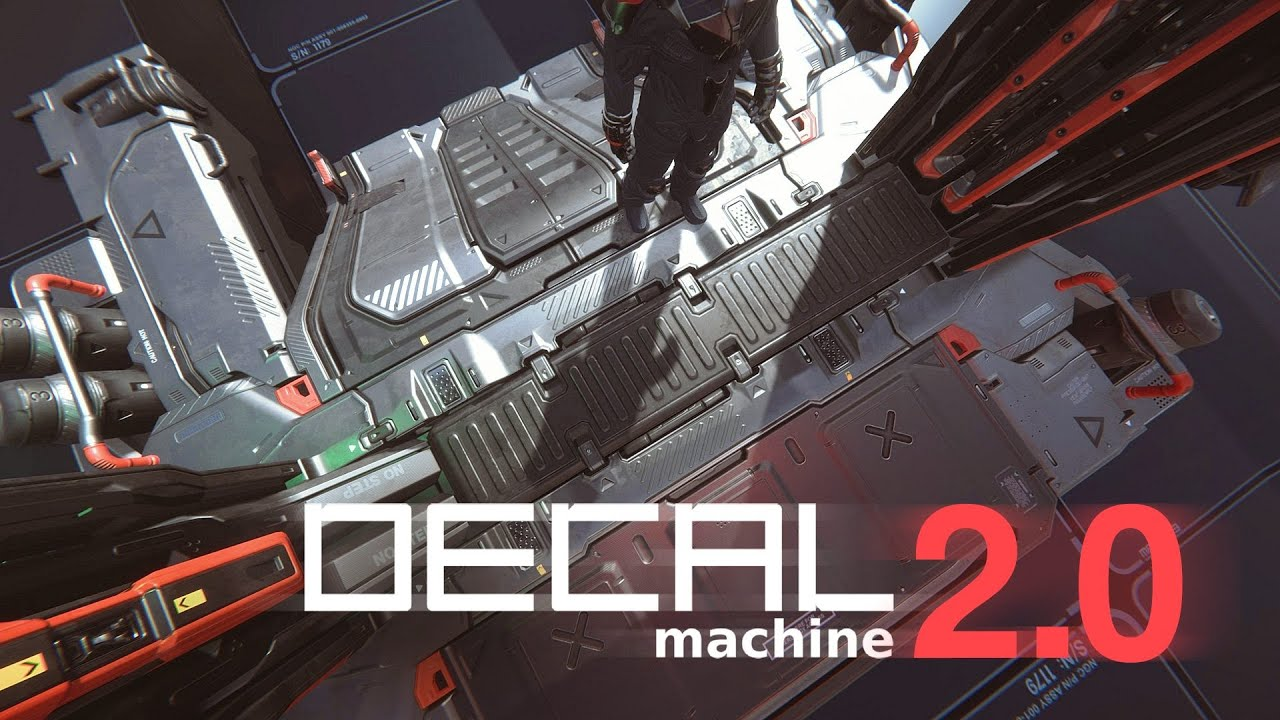 Decal Machine 2 for Blender now available