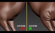 Cloth Deform modifier for 3ds Max