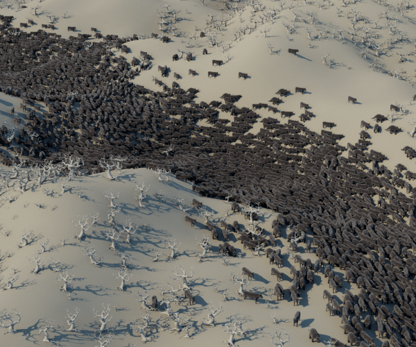 Maya 2020.4 released with new scattering and instancing tools