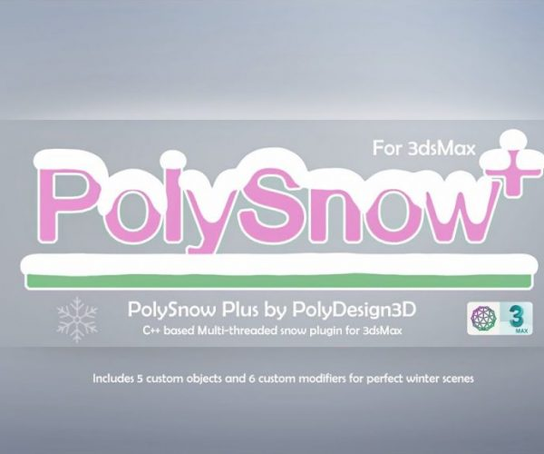 PolySnow Plus plugin for 3ds Max