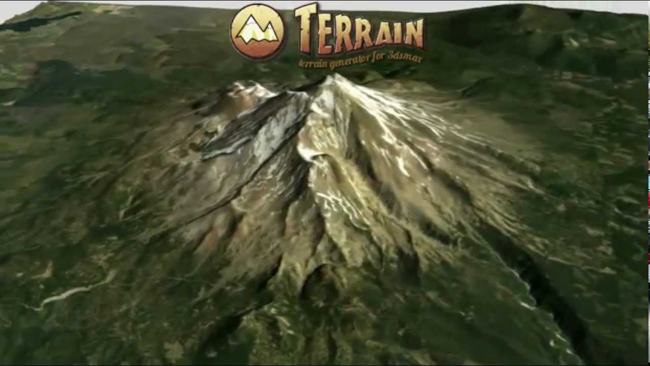 Terrain plugin for 3ds Max updated