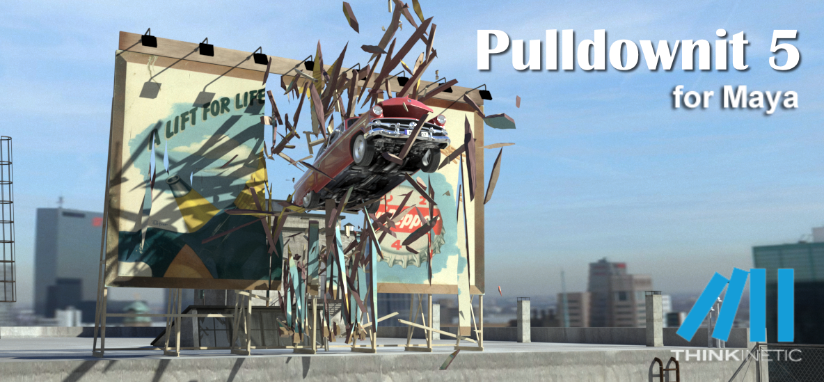Pulldownit 5 for Maya released
