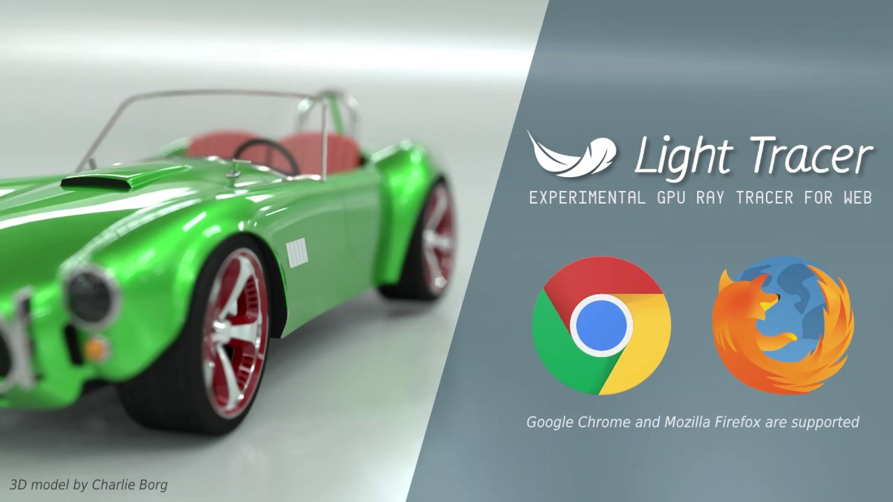 Light Tracer 1.9.0 released – Windows, Mac and browser-based GPU rendering