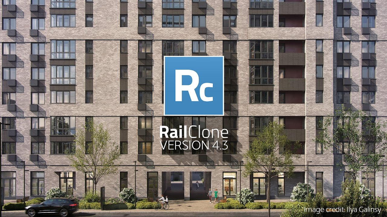 RailClone 4.3 released with speed boost, new deform controls, macros and more