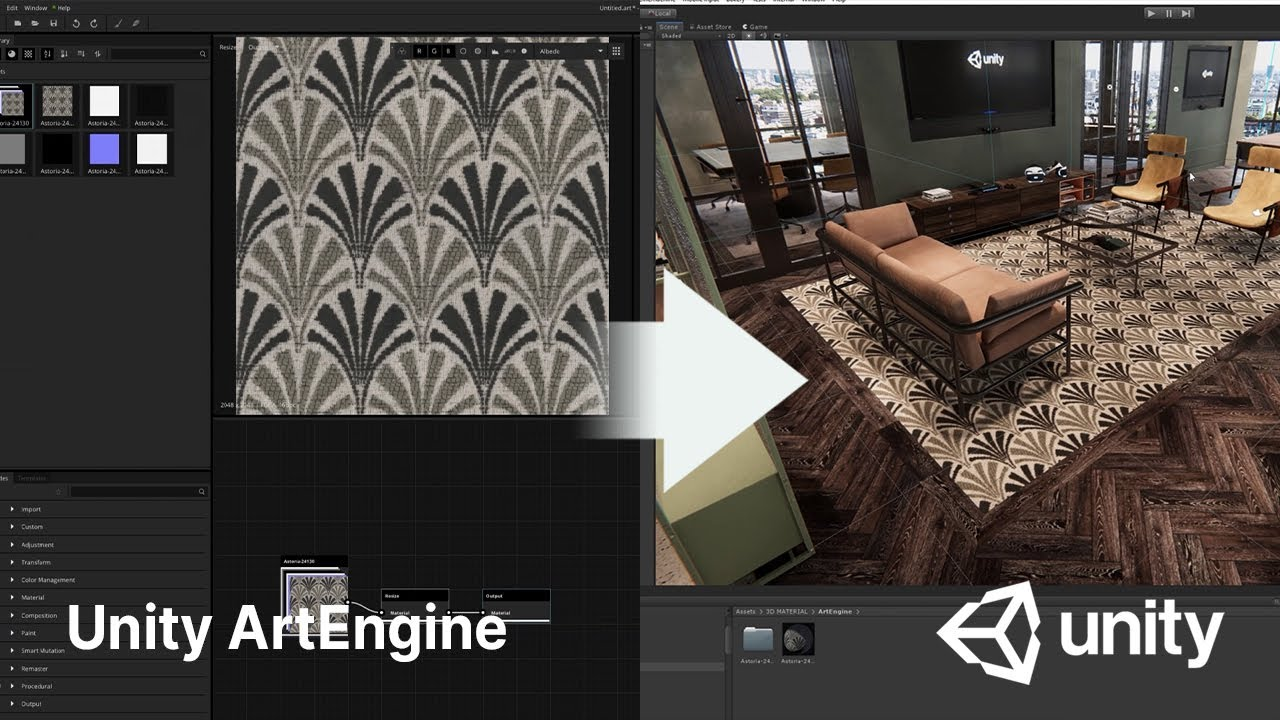 Unity ArtEngine 2021.10 released with a price reduction